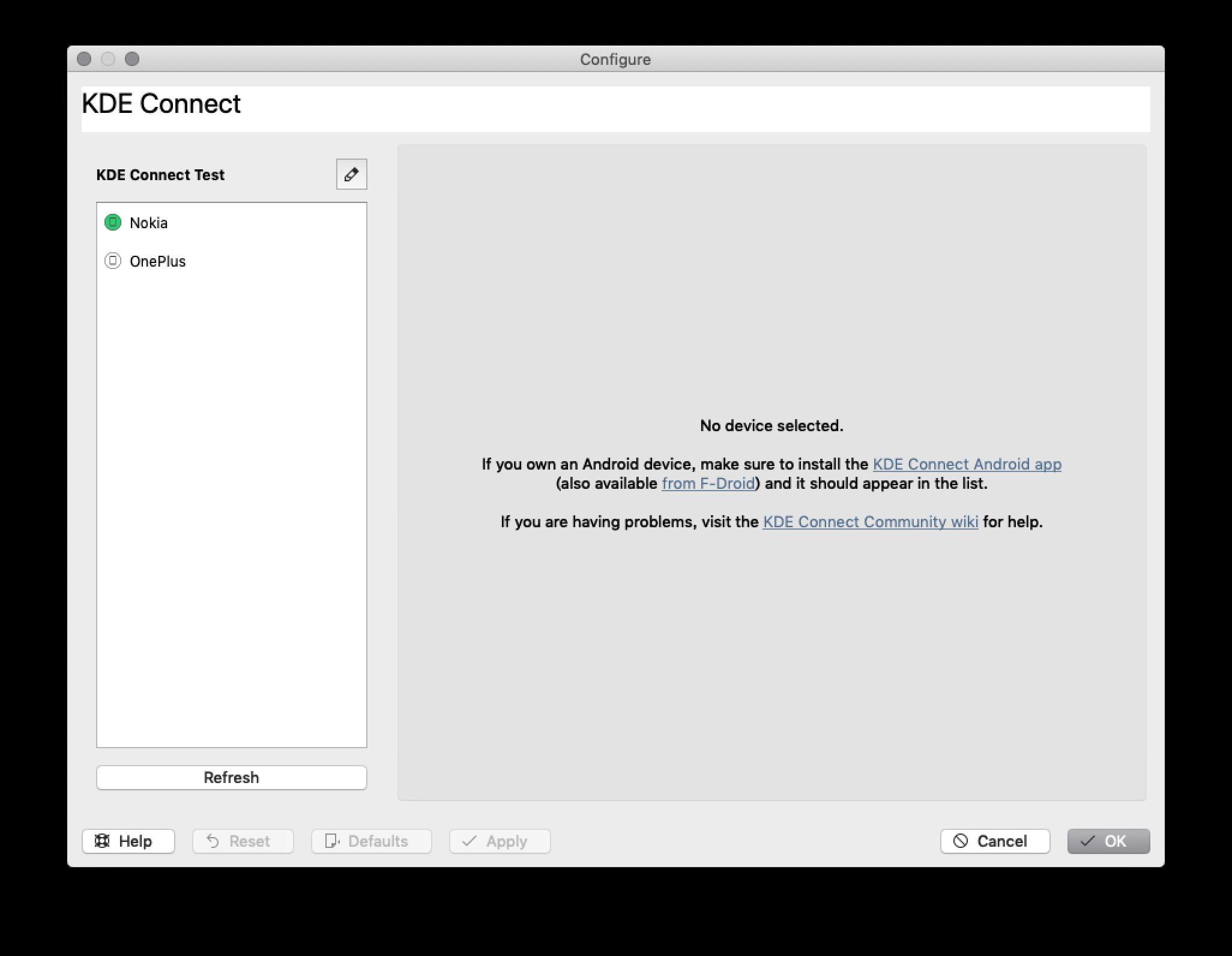 Inoki in KDE